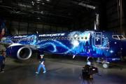 Авиакомпания WestJet и Walt Disney создали «Волшебный самолет»