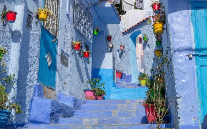 Что посмотреть в Марокко: город Шавен