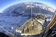 В горах Франции открылась стеклянная смотровая площадка