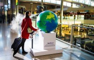 В аэропорту Хитроу установлен глобус с ароматами мира