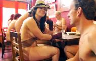 В Нью-Йорке открыт ресторан для нудистов